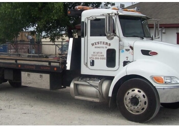 Mesquite towing company Hester's Wrecker Services