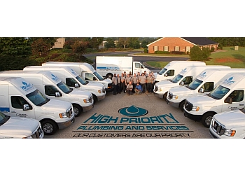 Savannah plumber High Priority Plumbing and Services, Inc.