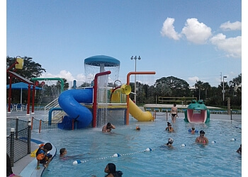 St Petersburg amusement park Highland Family Aquatic Center