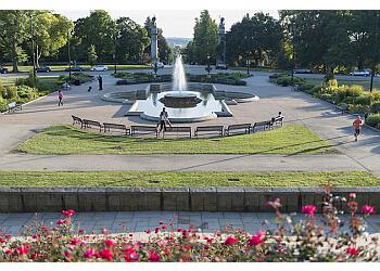 Pittsburgh public park Highland Park