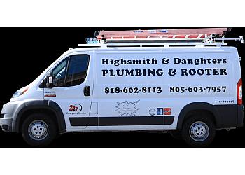 Simi Valley plumber Highsmith & Daughters Plumbing Inc.