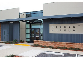 Orange places to see Hilbert Museum of California Art