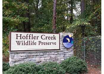 Norfolk hiking trail Hoffler Creek Wildlife Preserve