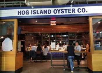 San Francisco seafood restaurant Hog Island Oyster Co.