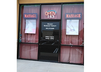 Oxnard massage therapy Holiday Massage