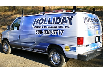 Spokane hvac service Holliday Heating & Air Conditioning Inc.