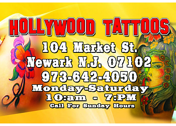 Newark tattoo shop Hollywood Tattoos