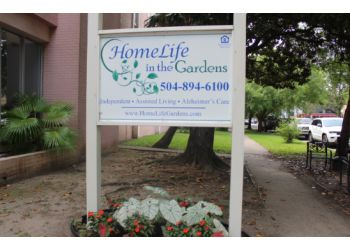 New Orleans assisted living facility HomeLife in the Gardens, LLC.