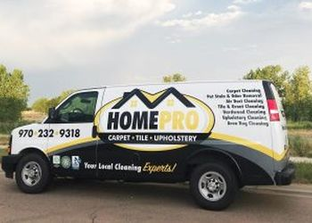 Fort Collins carpet cleaner HomePro Carpet Cleaning