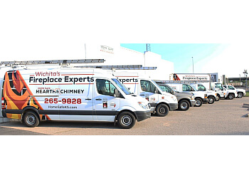 Wichita chimney sweep Home Safe Hearth & Chimney Inc.