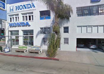 Los Angeles car dealership Honda of Downtown Los Angeles