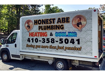 Baltimore plumber Honest Abe Plumbing, Heating & Cooling