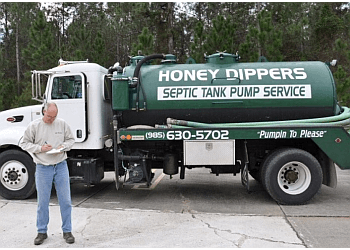 New Orleans septic tank service Honey Dippers LLC.