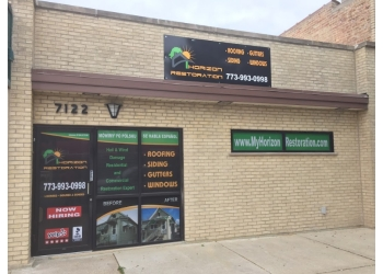 Chicago roofing contractor Horizon Restoration