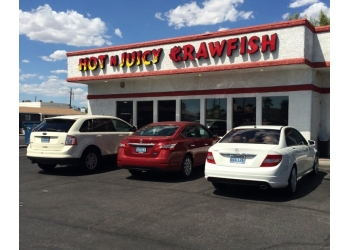 Las Vegas seafood restaurant Hot N Juicy Crawfish