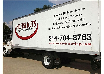 Plano moving company Hot Shots Delivery & Moving