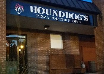 Columbus pizza place Hounddog's Pizza