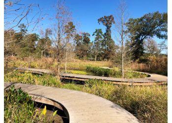 Houston hiking trail Houston Arboretum & Nature Center