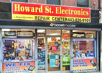 Baltimore cell phone repair Howard Street Electronics by Forever Wireless