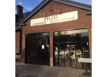 Reno cafe Hub Coffee Roasters
