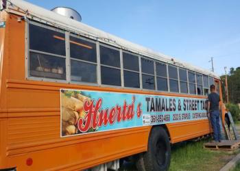 Corpus Christi food truck Huerta's Tamales