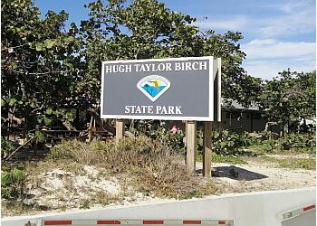 Fort Lauderdale public park Hugh Taylor Birch State Park