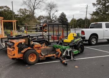 Mobile landscaping company Hughes 360 Landscape and Property Maintenance