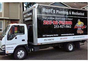 Tacoma plumber Hunt's Plumbing & Mechanical, LLC