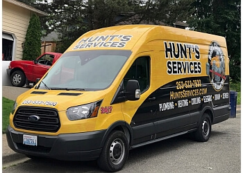 Tacoma plumber Hunt's Service
