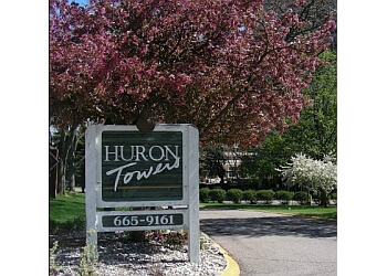 Ann Arbor apartments for rent Huron Towers Apartments