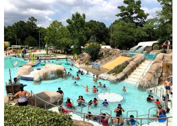 Pasadena amusement park Hurricane Harbor Splashtown