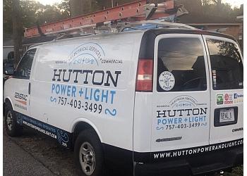 Chesapeake electrician Hutton Power & Light