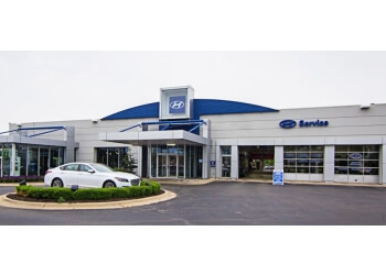 Rockford car dealership Hyundai on Perryville