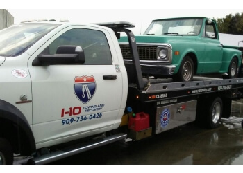 Ontario towing company I-10 TOWING AND RECOVERY