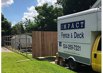 New Orleans fencing contractor IMPACT Fence & Deck