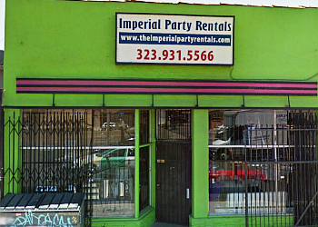 Los Angeles event rental company IMPERIAL PARTY RENTALS