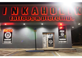 Miami tattoo shop INKAHOLIK TATTOOS