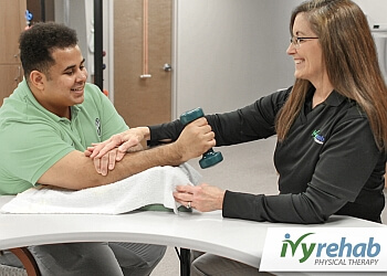 Newark occupational therapist IVY REHAB PHYSICAL THERAPY