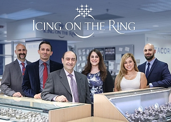 Los Angeles jewelry Icing On The Ring