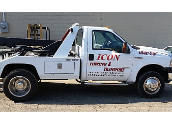 Cleveland towing company Icon Towing & transport