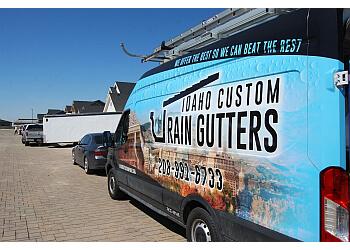 Boise City gutter cleaner Idaho Custom Rain Gutters