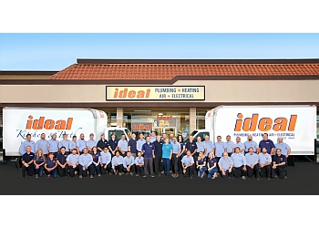 San Diego electrician Ideal Plumbing Heating Air Electrical