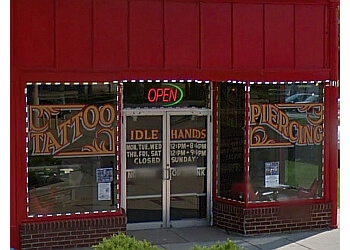 Wichita tattoo shop Idle Hands Tattoo & Piercing