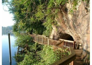Knoxville hiking trail Ijams Nature Center