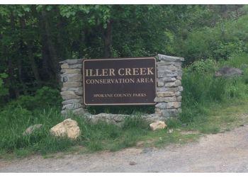 Spokane hiking trail Iller Creek Conservation Area