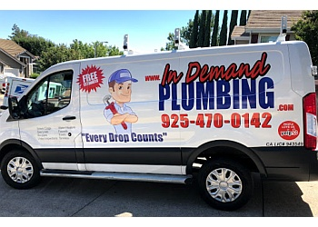 Antioch plumber In Demand Plumbing