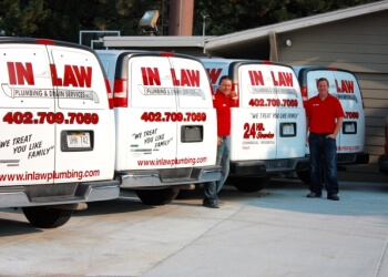 Omaha plumber In-Law Plumbing & Drain Services, Inc.