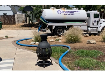 Corona septic tank service Independent Pumping