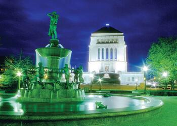 Indianapolis landmark Indiana World War Memorial