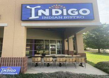 Shreveport indian restaurant Indigo Indian Bistro
